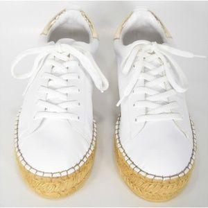 Steve Madden Shoes - Steve Madden Pappy NEW White Espadrilles Sneakers